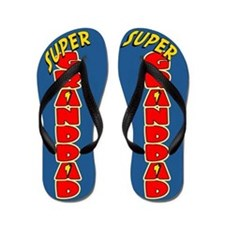 Super Granddad Flip Flops
