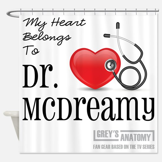 DR. McDREAMY Shower Curtain