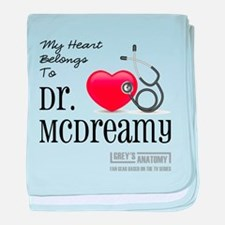 DR. McDREAMY baby blanket