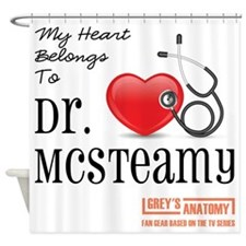 DR. McSTEAMY Shower Curtain