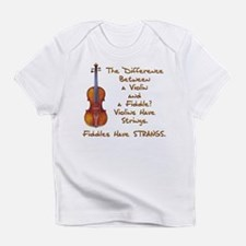 Funny Fiddle Infant T-Shirt