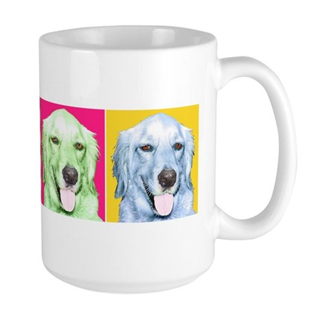 Golden Retriever Large Mug