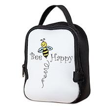 Bee Happy Neoprene Lunch Bag