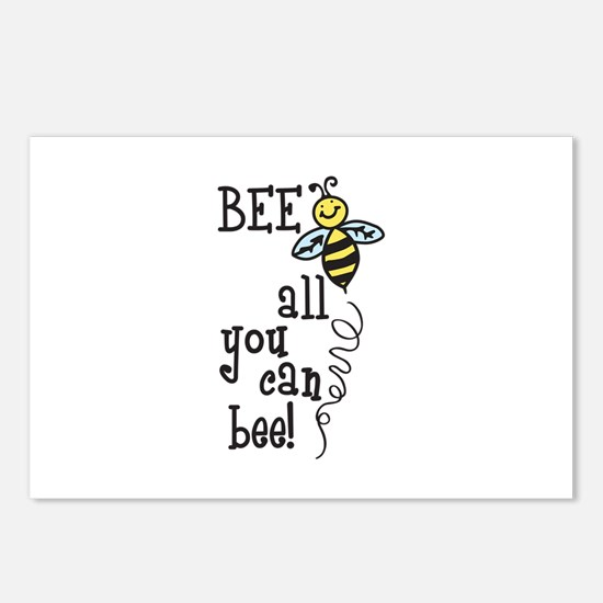 BEE all you can bee! Postcards (Package of 8)