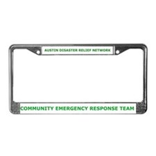 Austin Disaster Relief Network License Plate Frame