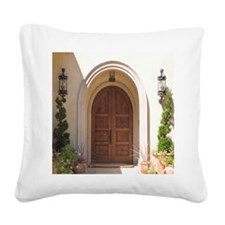 Heavenly Arch Square Canvas Pillow