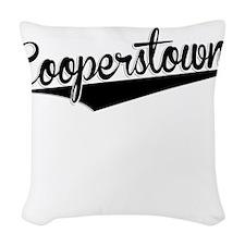 Cooperstown, Retro, Woven Throw Pillow