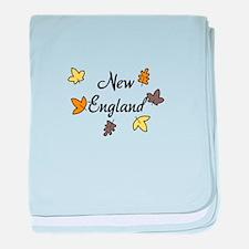 New England baby blanket