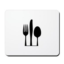 Silverware Mousepad