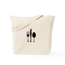 Silverware Tote Bag