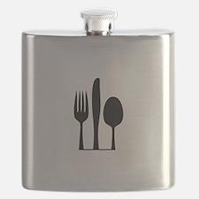 Silverware Flask