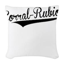 Corral-Rubio, Retro, Woven Throw Pillow