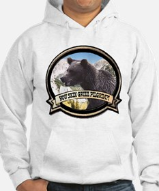 Can you skin Griz bear hunter Hoodie