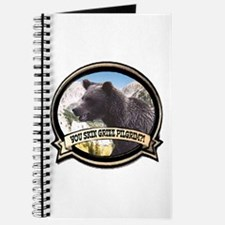 Can you skin Griz bear hunter Journal