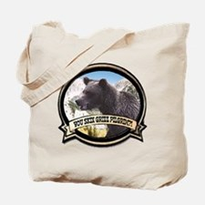 Can you skin Griz bear hunter Tote Bag