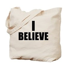 I Believe Playoffs Tote Bag