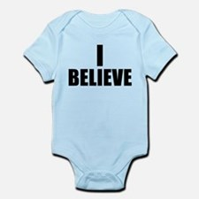 I Believe Playoffs Infant Bodysuit