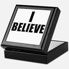 I Believe Playoffs Keepsake Box
