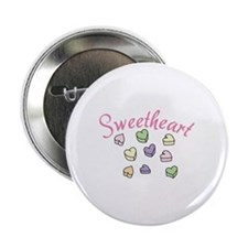 "Sweetheart 2.25"" Button"