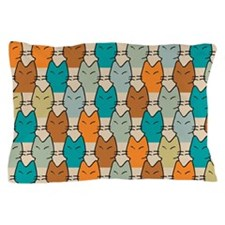 Cats at the Matinee Pillow Case