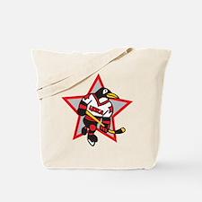 Russian Hockey Tote Bag