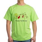 Bondage Bottom Green T-Shirt
