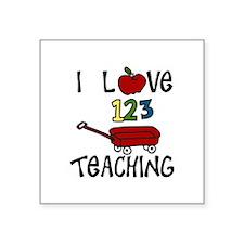 I Love TEACHING Sticker