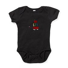 I Love TEACHING Baby Bodysuit