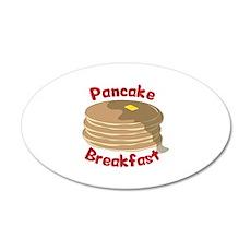 Pancake Breakfast Wall Decal