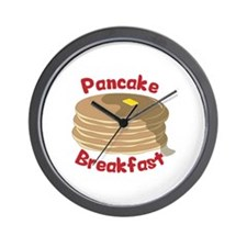 Pancake Breakfast Wall Clock