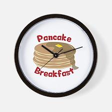 Pancake Breakfast Wall Clock