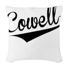 Cowell, Retro, Woven Throw Pillow