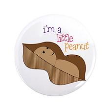 "Im a Little Peanut 3.5"" Button (100 pack)"