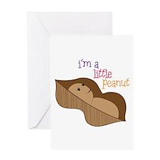 Im a Little Peanut Greeting Cards