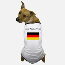 Custom Germany Flag Dog T-Shirt