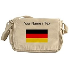 Custom Germany Flag Messenger Bag