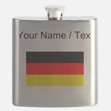 Custom Germany Flag Flask