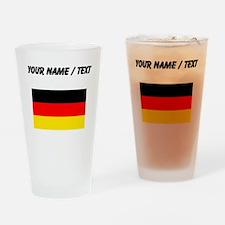 Custom Germany Flag Drinking Glass