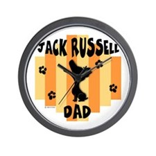 Jack Russell Terrier Dad Wall Clock