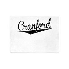 Cranford, Retro, 5'x7'Area Rug