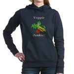 Veggie Junkie Women's Hooded Sweatshirt