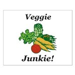 Veggie Junkie Small Poster