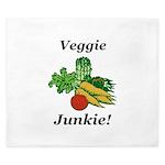 Veggie Junkie King Duvet