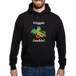 Veggie Junkie Hoodie (dark)