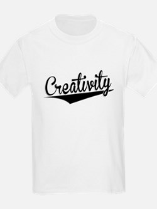 Creativity, Retro, T-Shirt