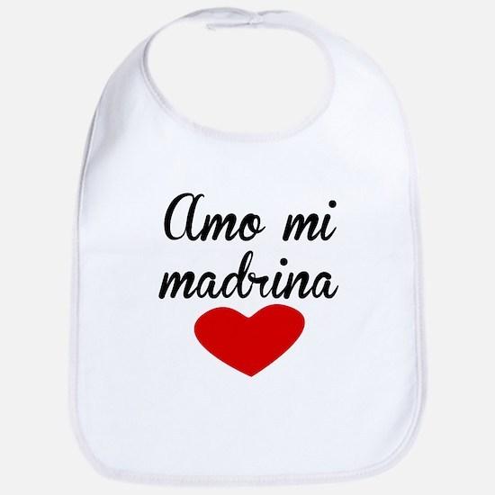 Amo Mi Madrina Bib