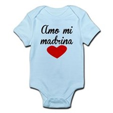 Amo Mi Madrina Body Suit