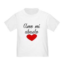 Amo Mi Abuelo T-Shirt