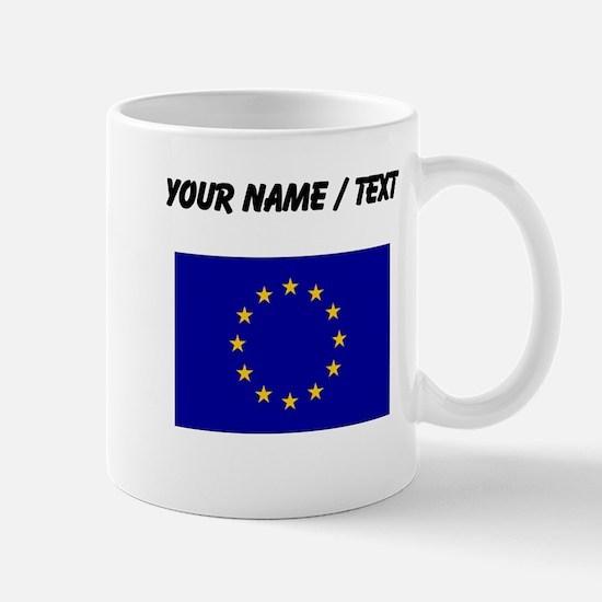 Custom European Union Flag Mugs