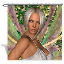 Fairy Butterfly Shower Curtain